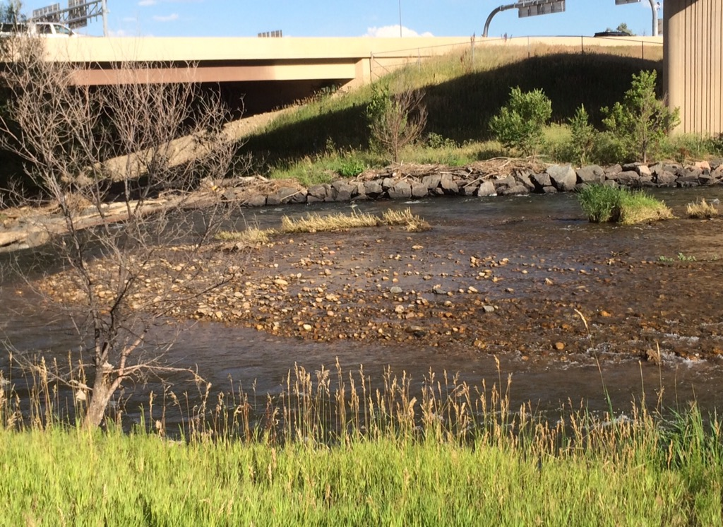 Clear Creek (Broadway to Washington) – Prospecting tips – Finding