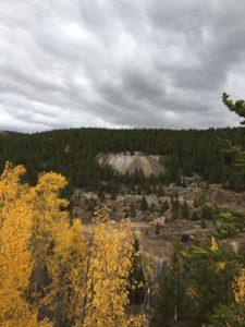 Leadville Colorado, California Gulch, recreational path
