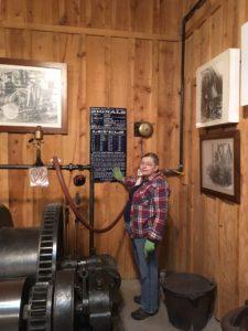 WMMI tour guide, cable spooler, lift operator