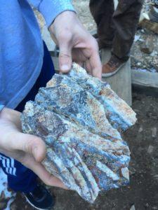 Silver ore, gold ore, colorado