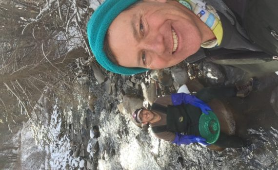 Winter gold prospecting, Utah gold panning
