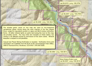 Map of Piñon Bridge, Colorado area